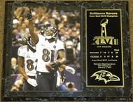 Anquan Boldin Baltimore Ravens Super Bowl XLVII 47 Champions 12x15 Plaque - boldinpl4