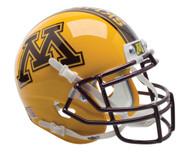 Minnesota Golden Gophers Schutt mini authentic Alternate GOLD NCAA football helmet