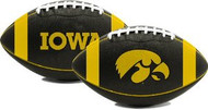 Iowa Hawkeyes Fotoball Jarden Sports NCAA PT6 Full Size Black Football