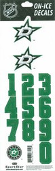 Dallas Stars Sportstar Officially Licensed Authentic Center Ice NHL Hockey Helmet Decal Kit #2