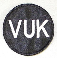 "John Vukovich ""VUK"" Philadelphia Phillies 2007 Memorial Jersey Patch"