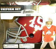 Alabama Crimson Tide #15 Franklin Deluxe Youth / Kids Football Uniform Set - Size Small