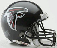 Atlanta Falcons Riddell NFL Replica 6-Pack Mini Helmet Set