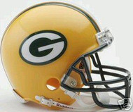 Green Bay Packers Riddell NFL Replica 6-Pack Mini Helmet Set