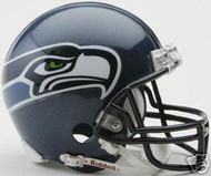Seattle Seahawks 2002-2011 Riddell NFL Replica 6-Pack Mini Helmet Set