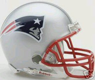 New England Patriots Riddell NFL Replica 6-Pack Mini Helmet Set