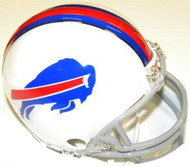 Buffalo Bills WHITE Riddell NFL Replica 6-Pack Mini Helmet Set