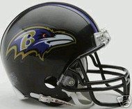 Baltimore Ravens Riddell NFL Replica 6-Pack Mini Helmet Set