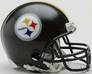Pittsburgh Steelers Riddell NFL Replica 6-Pack Mini Helmet Set