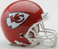 Kansas City Chiefs Riddell NFL Replica 6-Pack Mini Helmet Set