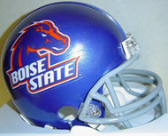 Boise State Broncos Riddell NCAA College Replica 6-Pack Mini Helmet Set