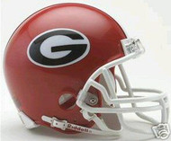 Georgia Bulldogs Riddell NCAA College Replica 6-Pack Mini Helmet Set