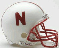 Nebraska Cornhuskers Riddell NCAA College Replica 6-Pack Mini Helmet Set