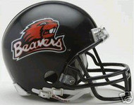 Oregon State Beavers Riddell NCAA College Replica 6-Pack Mini Helmet Set