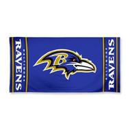 "Baltimore Ravens WinCraft McArthur 30""x60"" Fiber Beach Towel"