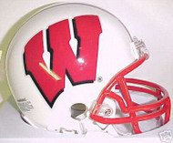 Wisconsin Badgers Riddell NCAA College Replica 6-Pack Mini Helmet Set