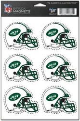 New York Jets NFL Team Logo Wincraft Magnet 6-Pack