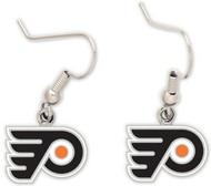 Philadelphia Flyers Wincraft Sports Hanging NHL Team Logo Earrings