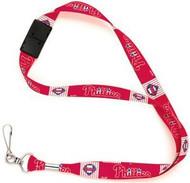 Philadelphia Phillies Wincraft Sports MLB Team Logo Reversible Breakaway Clip Lanyard