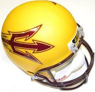 Arizona State Sun Devils GOLD Riddell NCAA Collegiate Deluxe Replica Full Size Helmet