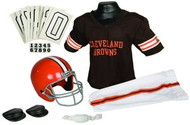 Cleveland Browns Franklin Deluxe Youth / Kids Football Uniform Set - Size Medium