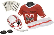 Nebraska Cornhuskers Franklin Deluxe Youth / Kids Football Uniform Set - Size Medium