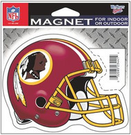 "Washington Redskins NFL Team Logo Wincraft Sports 4"" Die Cut Logo Magnet"