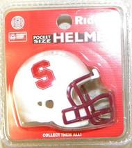 Stanford Cardinal NCAA Riddell Pocket Pro Revolution Helmet