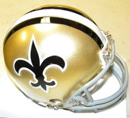 New Orleans Saints 1967-1975 Riddell NFL Replica Throwback Mini Helmet