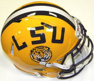 LSU Louisiana State Tigers Riddell NCAA Authentic Revolution SPEED Pro Line Full Size Helmet