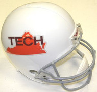 Virginia Tech Hokies 1971-1973 White Riddell NCAA Collegiate Deluxe Replica Throwback Full Size Helmet
