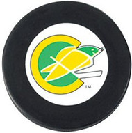 California Golden Seals NHL Team Logo Throwback Autograph Hockey Puck 1967-1976