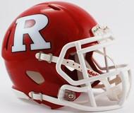 Rutgers Scarlett Knights Riddell NCAA Replica Revolution SPEED Mini Helmet