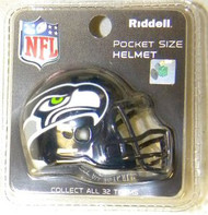 Seattle Seahawks NFL Riddell Pocket Pro Revolution Helmet 2012