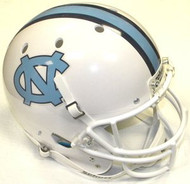 North Carolina Tar Heels WHITE Schutt NCAA College Football Team Full Size Replica XP Helmet