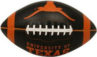 Texas Longhorns Fotoball Jarden Sports NCAA PT6 Full Size Black Football