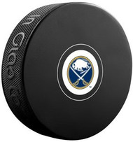 Buffalo Sabres NHL Team Logo Autograph Model Hockey Puck - Current Logo