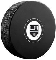 Los Angeles Kings NHL Team Logo Autograph Model Hockey Puck - Current Logo