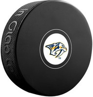 Nashville Predators NHL Team Logo Autograph Model Hockey Puck - Current Logo