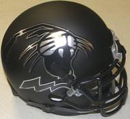 Northwestern Wildcats Alternate Black Schutt NCAA College Football Authentic Team Mini Helmet