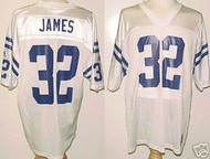 Edgerrin James Indianapolis Colts White Custom Adidas Licensed Mesh Souvenir NFL Jersey Size XL