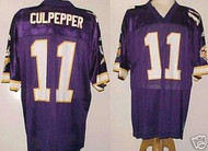 Daunte Culpepper Minnesota Vikings Purple Custom Adidas Licensed Mesh Souvenir NFL Jersey Size XL