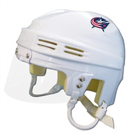 Columbus Blue Jackets NHL White Player Mini Hockey Helmet