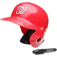 "Washington Nationals Rawlings ""On Field"" Mini replica batting helmet"