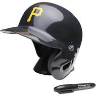 """Pittsburgh Pirates Rawlings """"On Field"""" Mini replica batting helmet"""