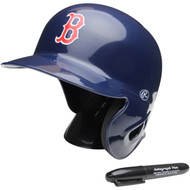 "Boston Red Sox Rawlings ""On Field"" Mini replica batting helmet"