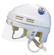 Edmonton Oilers White NHL Player Mini Hockey Helmet
