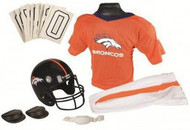 Denver Broncos Franklin Deluxe Youth / Kids Football Uniform Set - Size Small