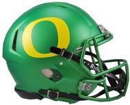 "Oregon Ducks ""Apple Green"" Riddell NCAA Full Size Authentic Speed Helmet"