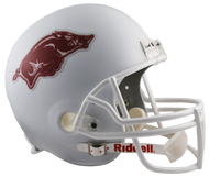 Arkansas Razorbacks Alternate White NCAA Collegiate Deluxe Replica Helmet